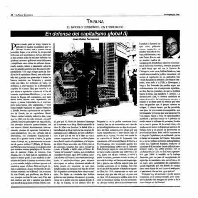 En Defensa del Capitalismo Global. Primera Parte.