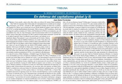En Defensa del Capitalismo Global - 2ª Parte.